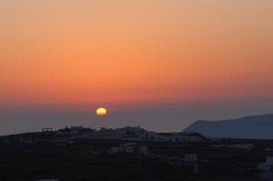 Spiti Stelios breathtaking sunset