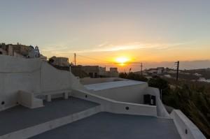 Spiti Stelios sunset - Pyrgos
